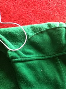 Fixing the Cord to the Hoodie