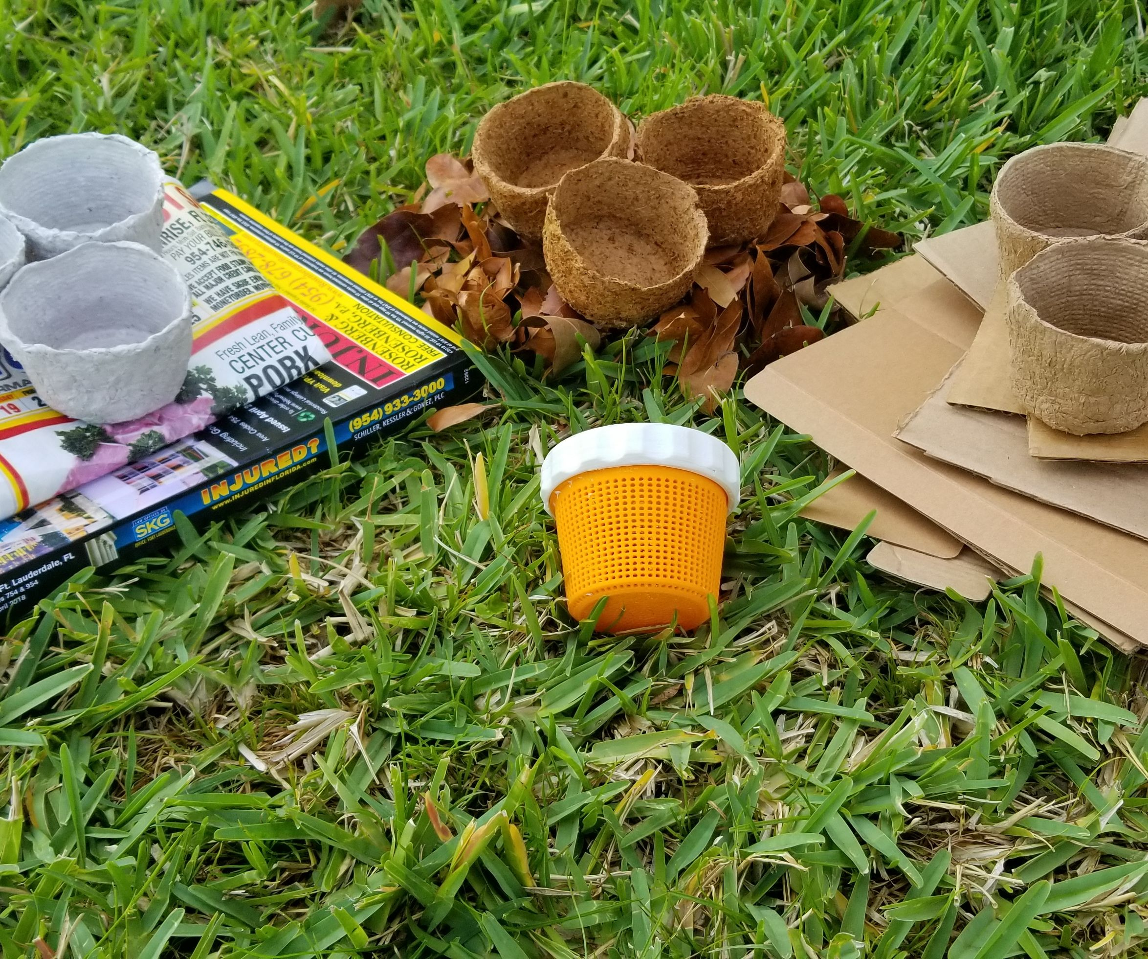 Turn Your Trash Into Biodegradable Pots