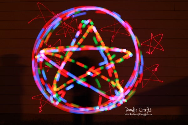 Light Painting With an SLR Camera!