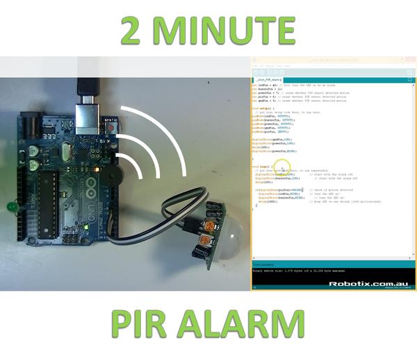 2 Minute PIR Alarm