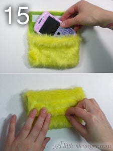 Sew It Up and Add the Velcro