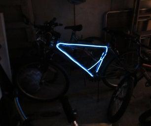 Blinking El Wire Bike Lights