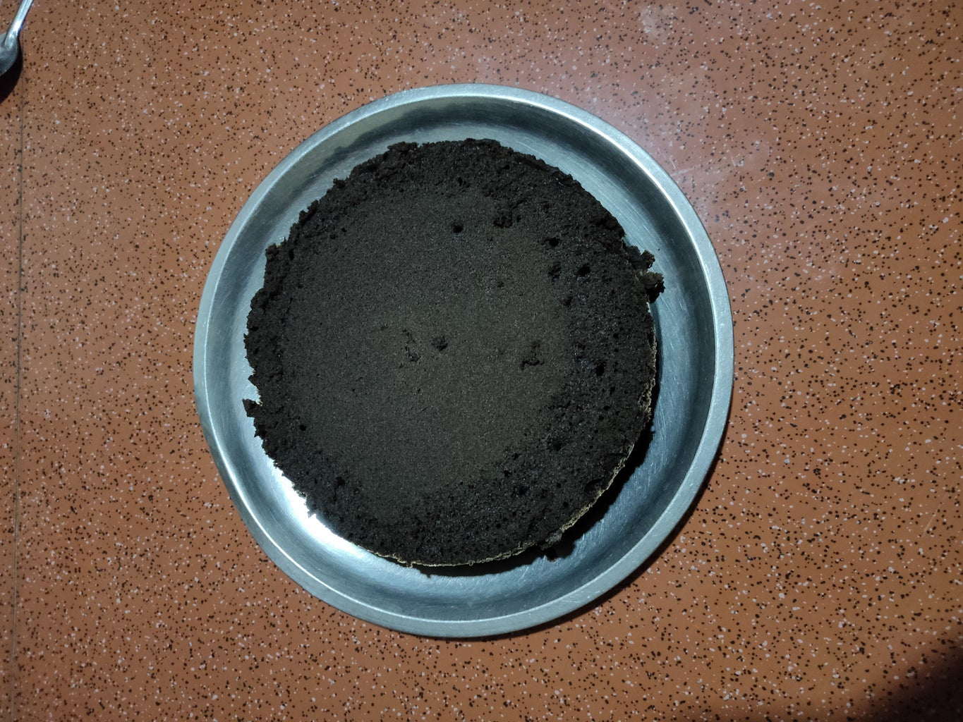 Bake the Mixture and Release the Cake