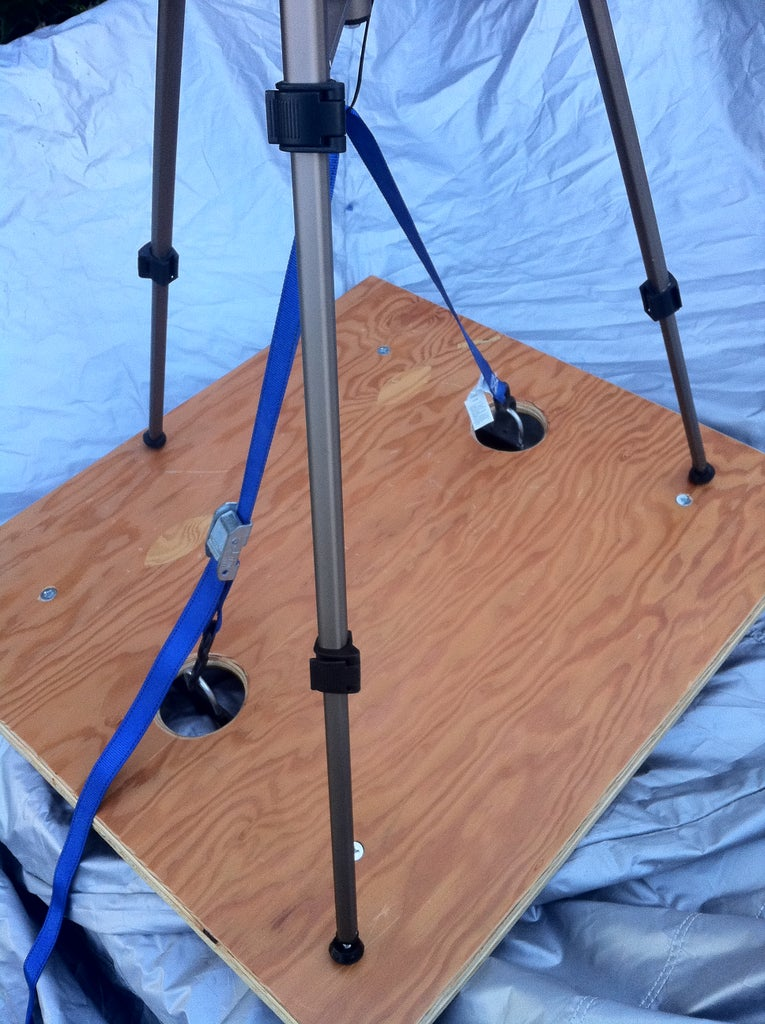Finished Dolly With Tripod Strapped On