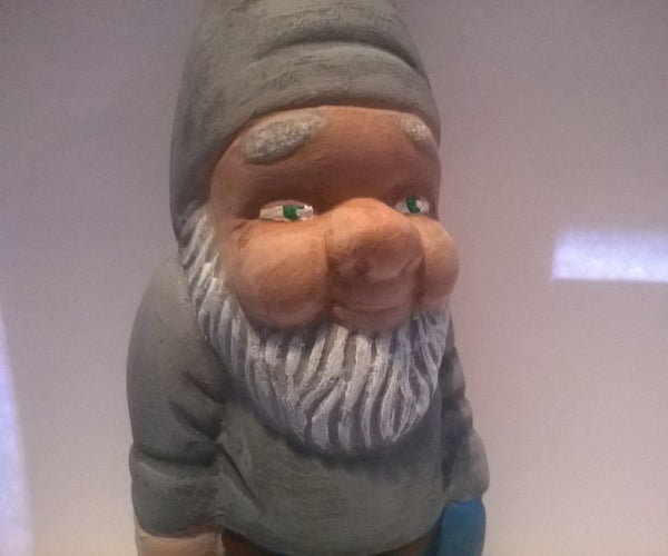 New Look for an Old Garden Gnome