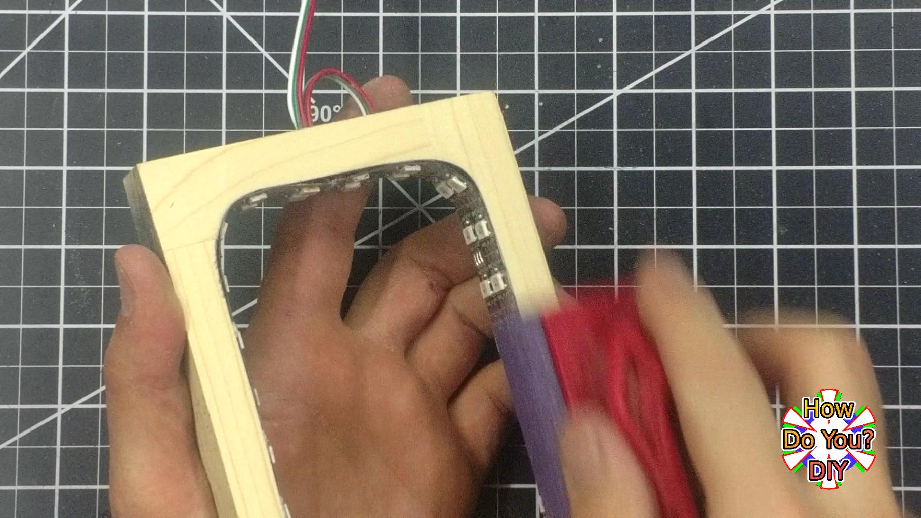 Making the LED Frame