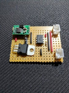 Solder Up the Circuit on a Veroboard