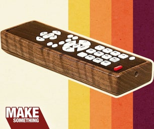 Wood TV Remote