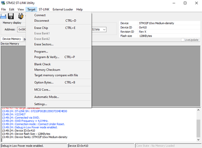 Assembly - Software - Precompiled Bin File