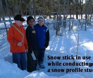 Snow Depth Sticks