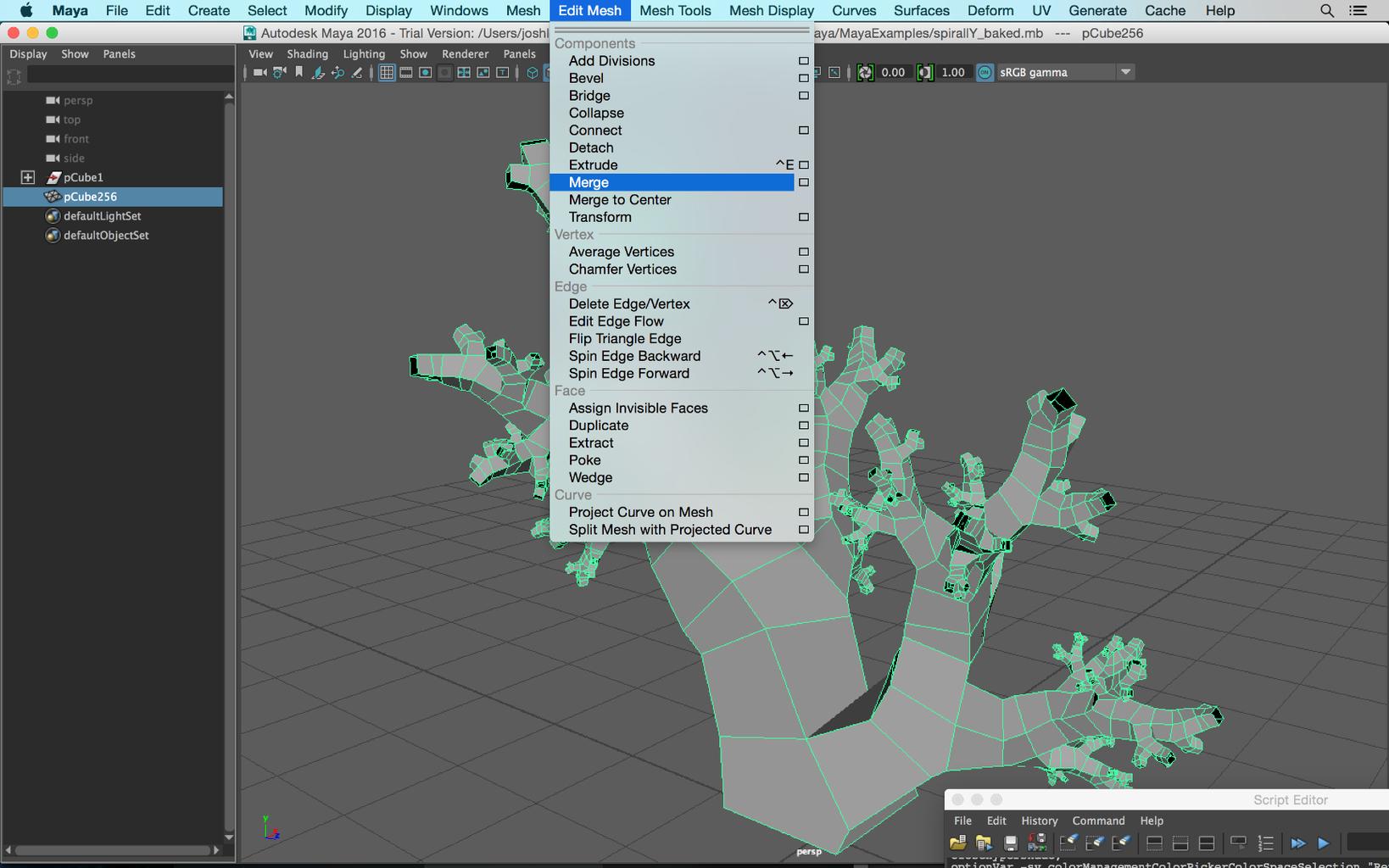 One Big Mesh Approach -> 3D Print