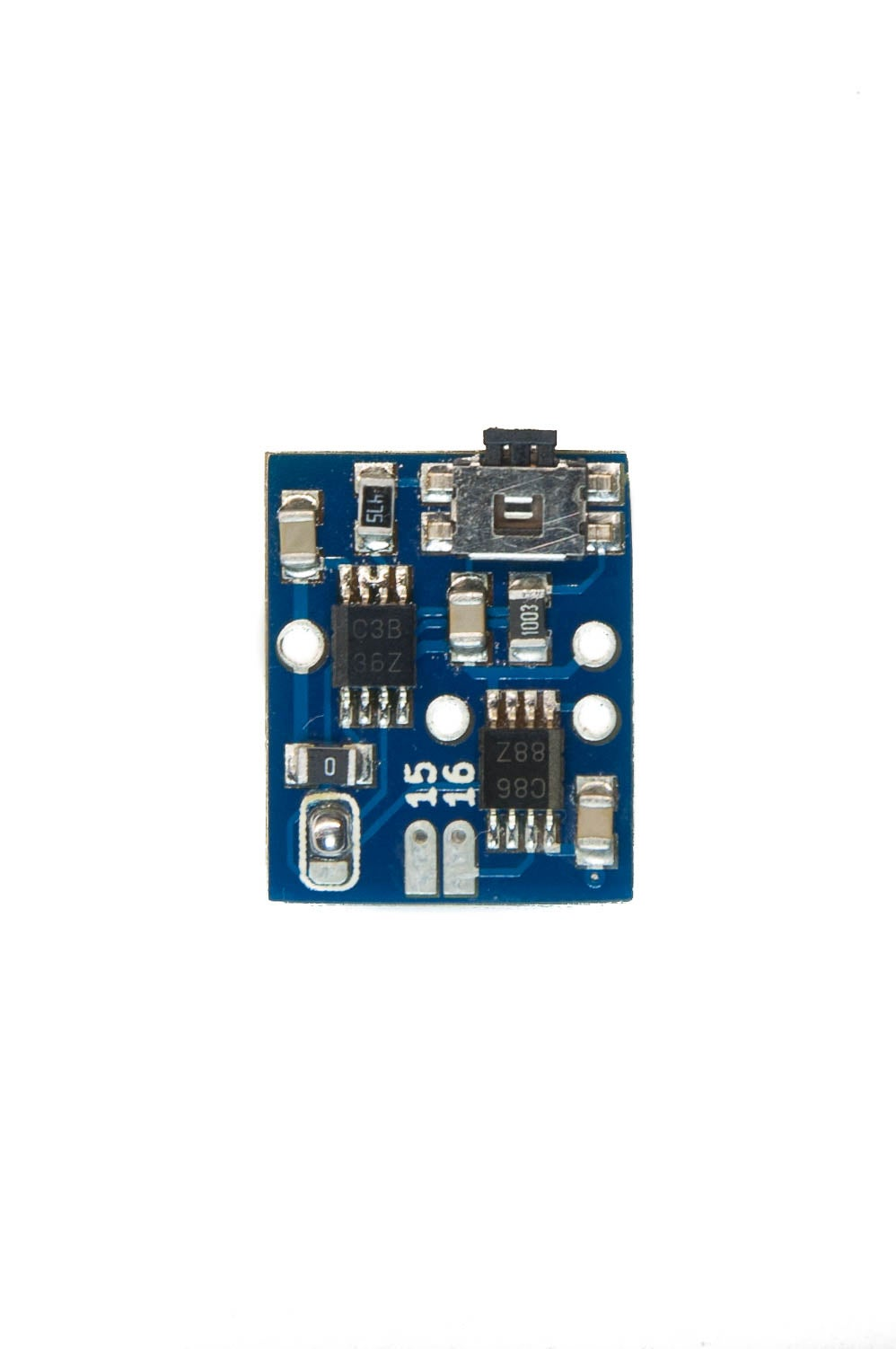 Identify Data, Ground, and Power Pads on Your Bi-vert Chip