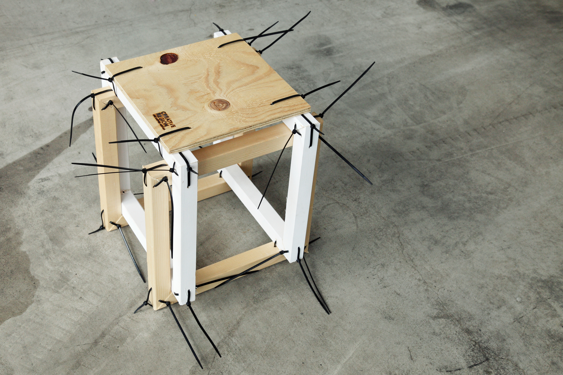 Familie Binder - stool by Margit Grein�cker & Katja Seifert
