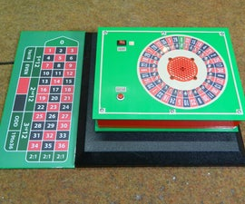 DIY 37 Leds Arduino Roulette Game