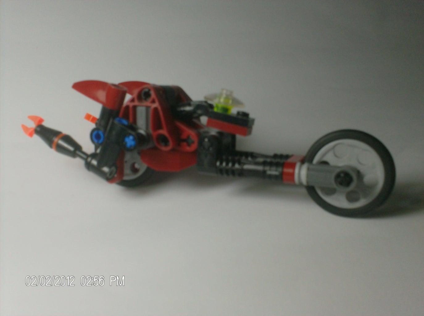 Beast Machine Lego Vehicon Thrust