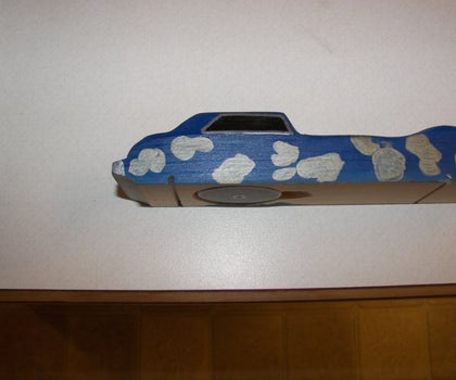 Pinewood Derby Car Weight Compartment