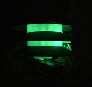 Recycled Components Touch Lamp