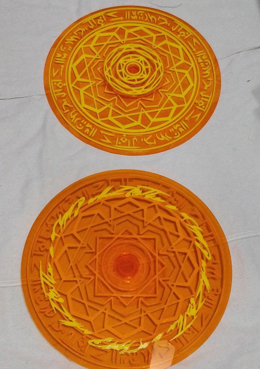 Gluing Detail to Base Circles