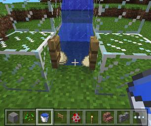 Simple Egg Farm on Minecraft Pe