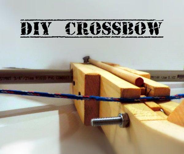 DIY PVC Crossbow