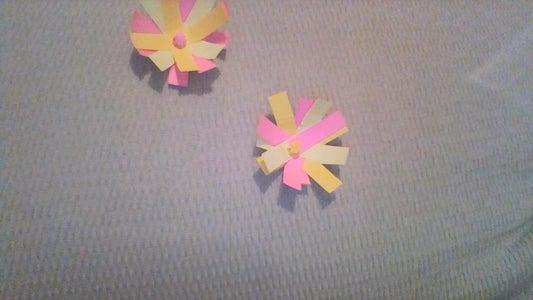 Sticky Note Flower