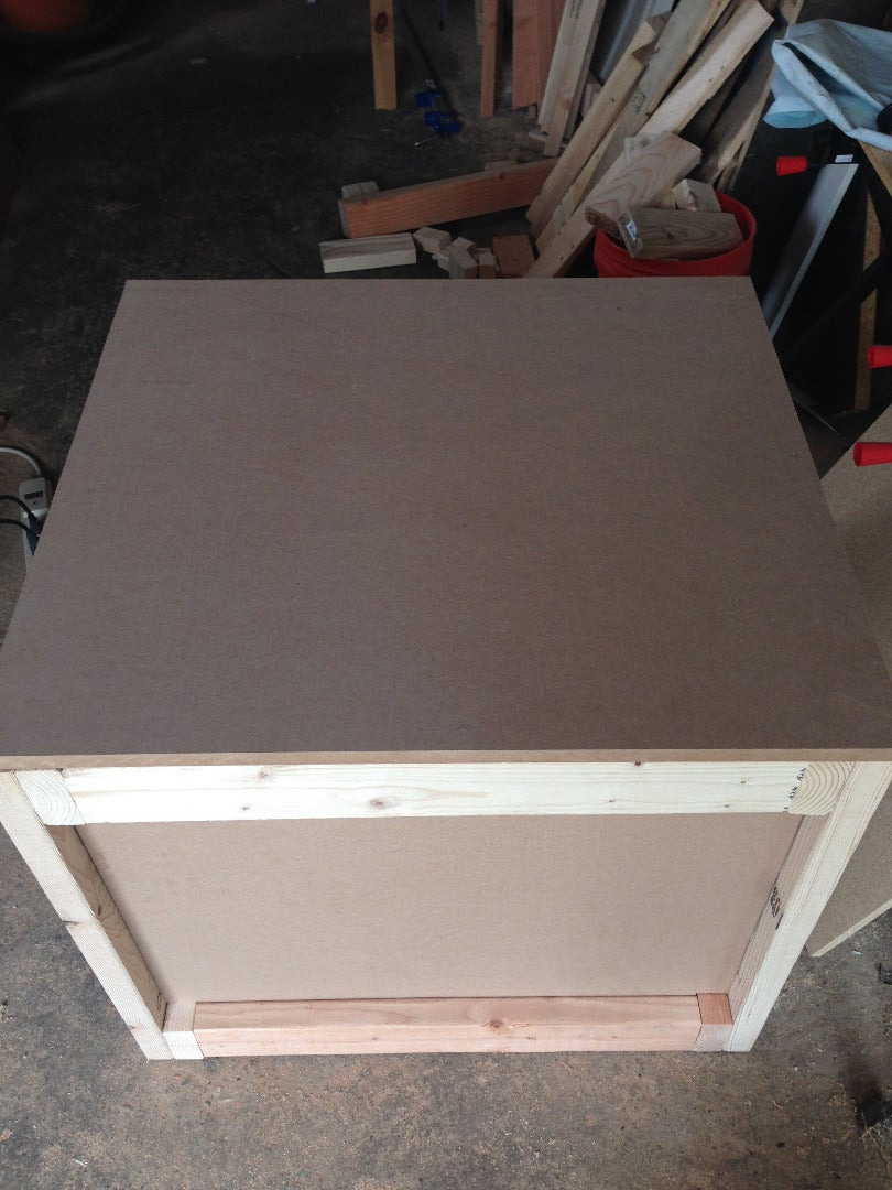 Workbench Top: Drill Mounting Holes & Attach Hardware