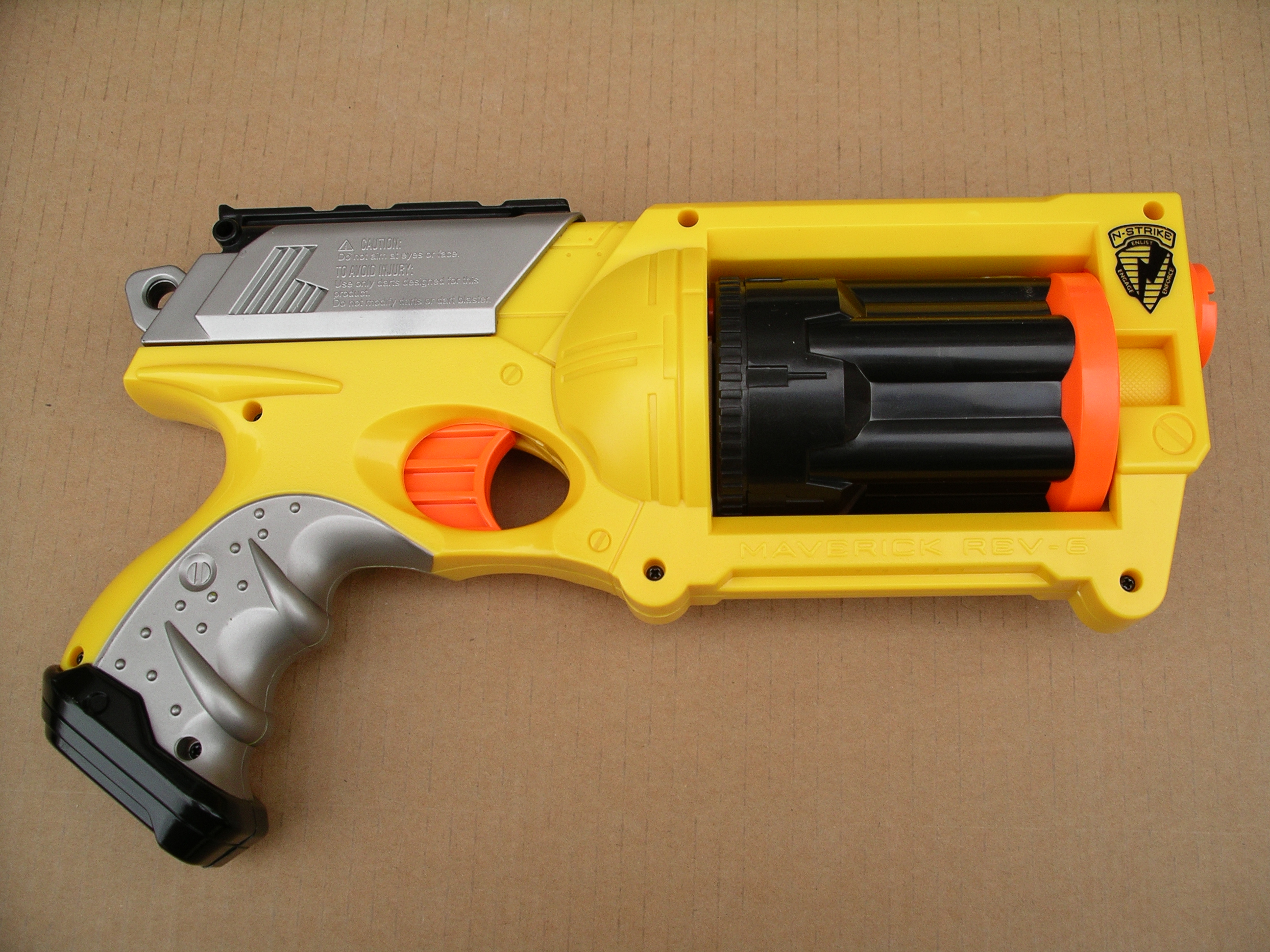 Pirate-esque Nerf Gun Conversion