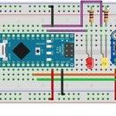 Arduino Menu With APDS 9960 Gesture Sensor Control