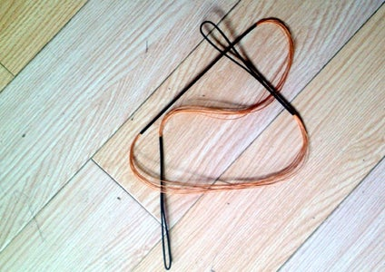 Step 9--Draw the String--The Final Step