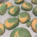Colourful Crescent Cookies