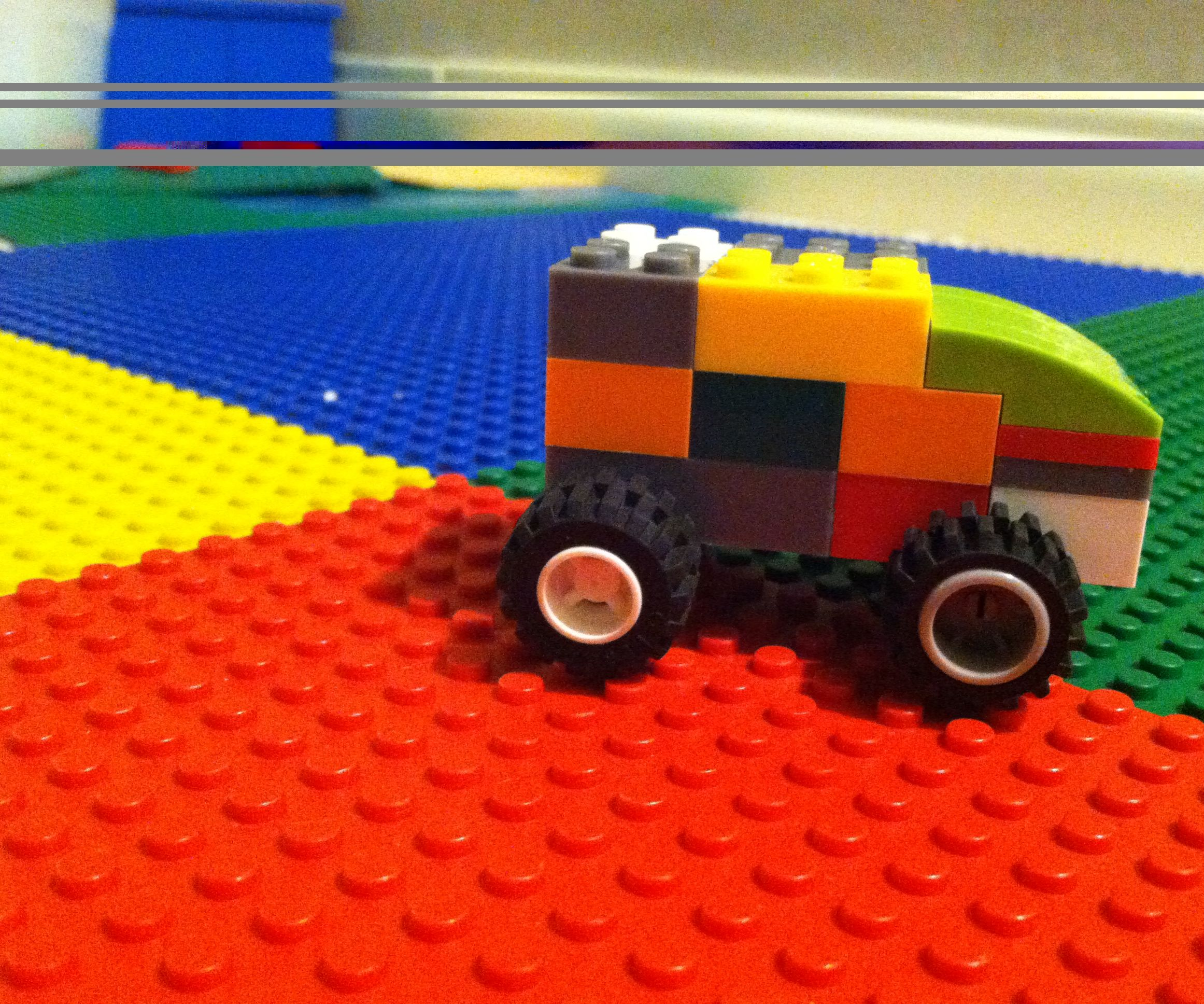 How to Make a Lego Truck/car