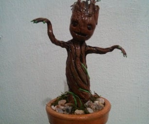 """""""I AM GROOT!"""" - Action Figure - Guardians of the Galaxy"""