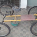 Pedal Kart Made From Old Pipes