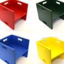 胶合板孩子们的立方体椅子