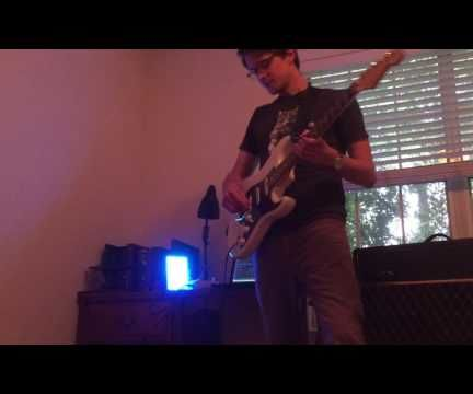 An LED Panel Controlled by Your Guitar! (or Other Audio Source)