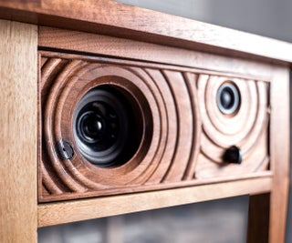 Speaker End Table