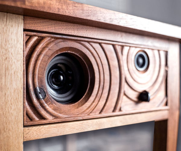 Speaker End Table