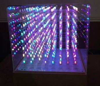 Arduino Mega 8x8x8 RGB LED Cube