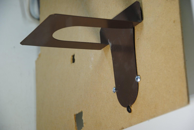 Metal Book Dividers for Shelves - Hand-Plane Holders!