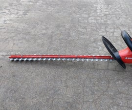 Black and Decker Hedge Hog HS2400 Type 1 24-inch Hedge Trimmer Cutting Bar Repair