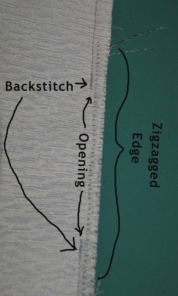 Part 2 - Finish Bottom Seams