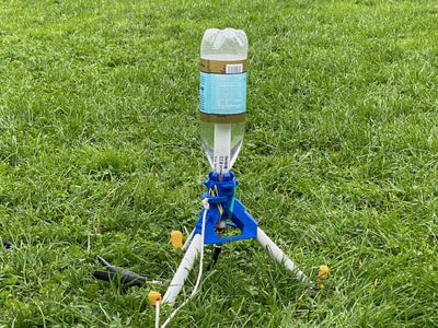 3D Printed Water Rocket Launcher