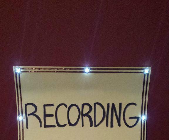 Chibitronics Recording Sign