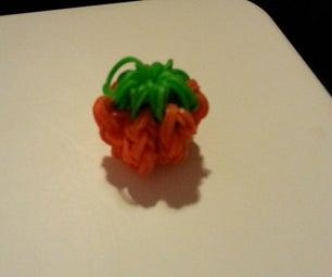 Loomless Pumpkin Charm