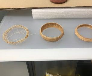 3D Printed Wood Experiment