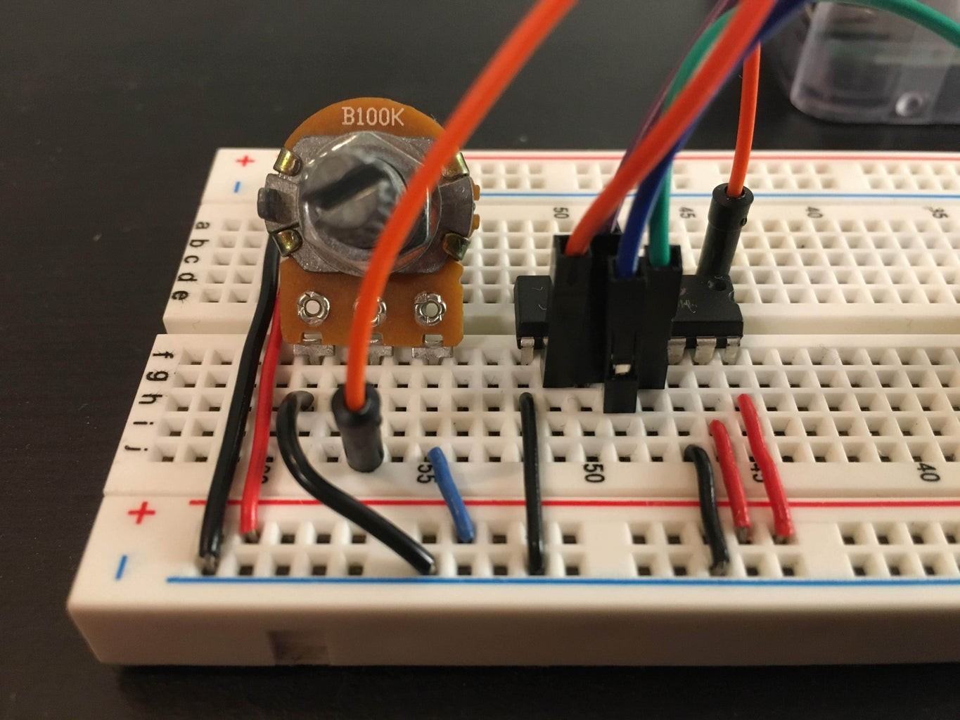 Testing: LEDs and Potentiometers