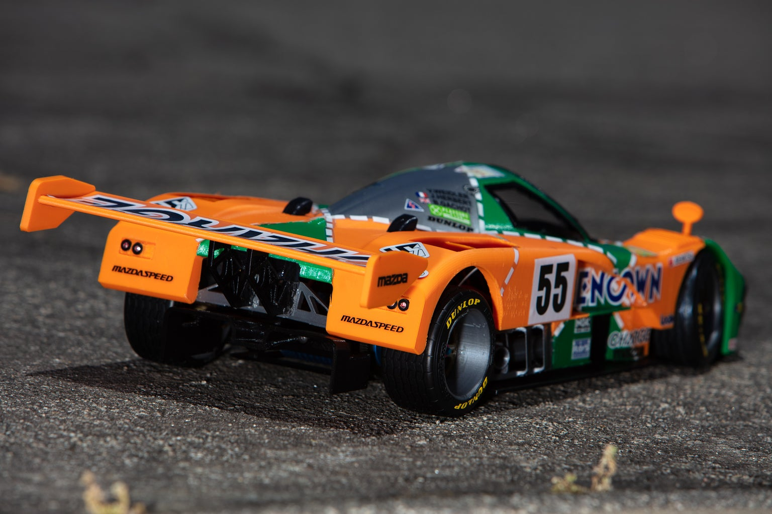 Mazda 787B 3D Printed RC Car