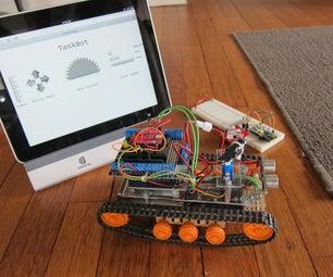 Tankbot - Internet Controlled Tank Robot