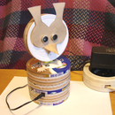 Table Ultrasonic Radar (Owl Variant)