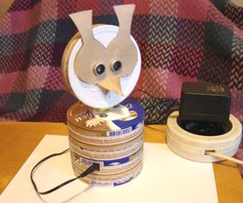 Table Ultrasonic Radar (Owl Variant)